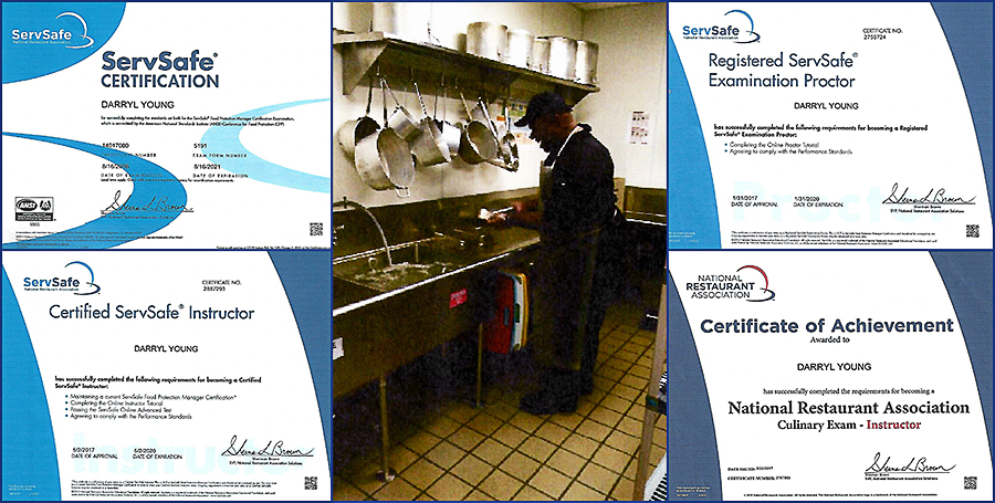 Darryl MauRICE Young With Certificates