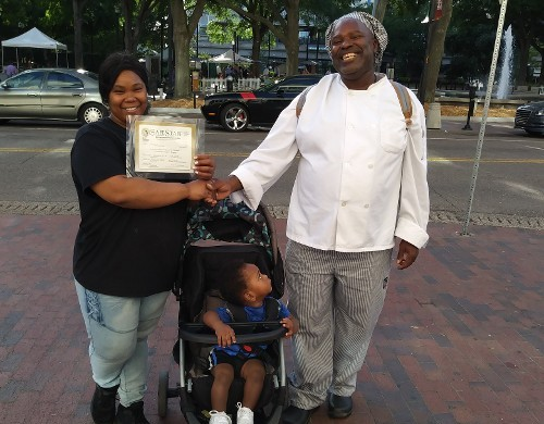 Mother Receiving Certification