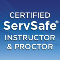 Certified ServSafe Instructor & Proctor